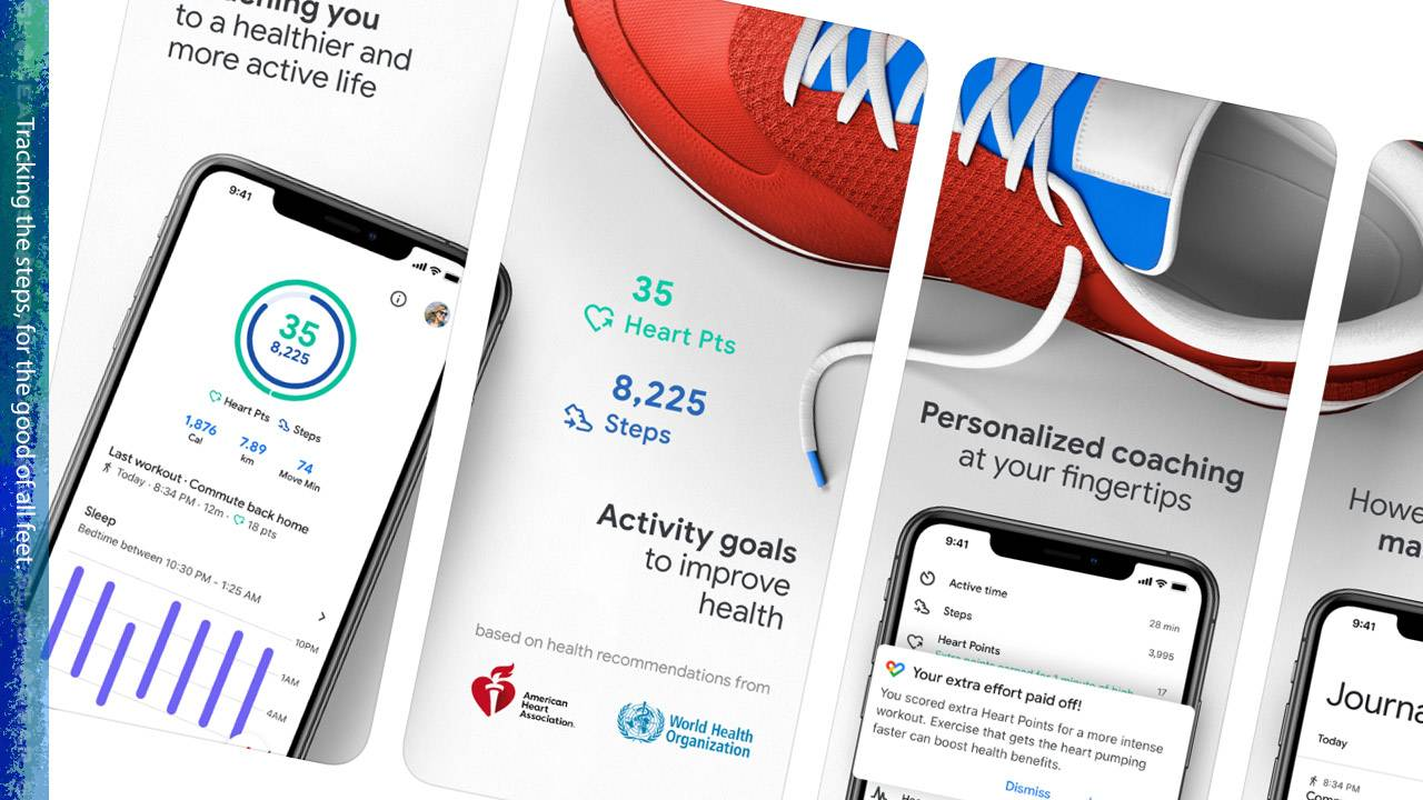 Google Fit updated with step count, WHO COVID-19 info